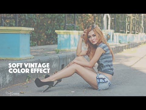 Soft Color Vintage Photoshop Tutorial thumbnail