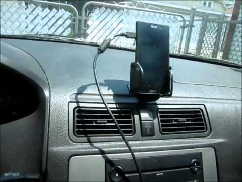 how to play your ipod music or phone music  through your regular car stereo
