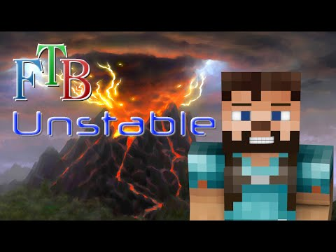FTB Unstable 1.10 - Ep. 10 - New Section & Ring of Magnetization
