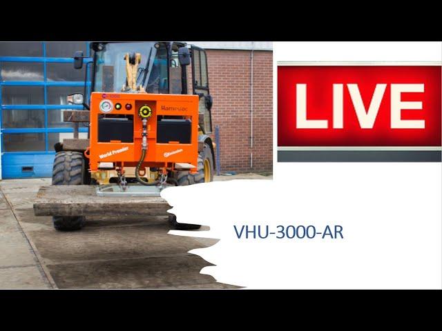 VHU-3000-AR volledig accu aangedreven