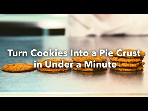 Turn Cookies Into A Pie Crust In Under A Minute