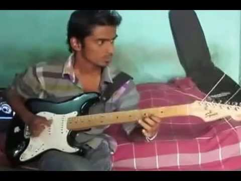 Thalaivaa Theme  Cover  Guitar  By Sri Slinger