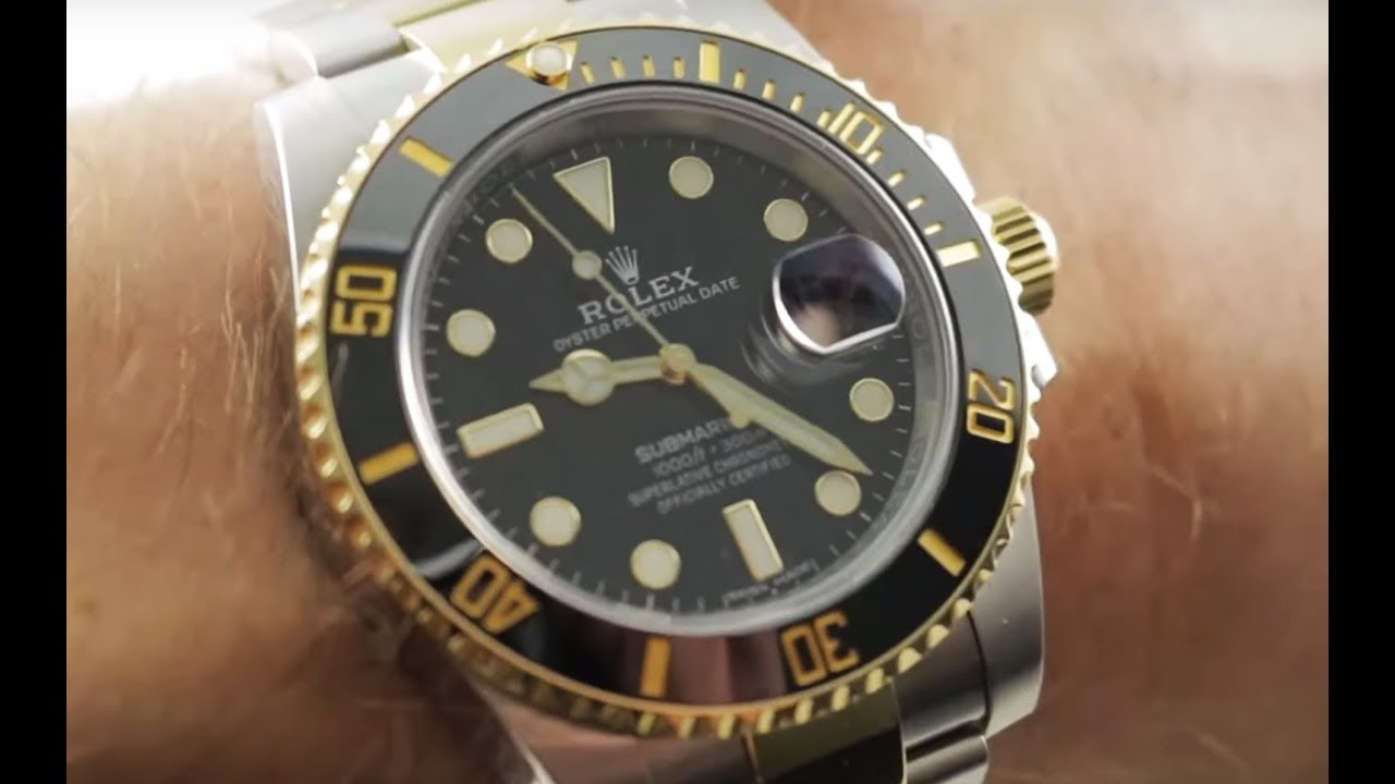 7f7cc60b691f7 Rolex Submariner (116613LN) Rolex Watch Review - YouTube