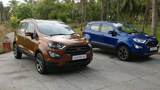 2018 Ford EcoSport S and Signature Edition: Quick Walk around & Features