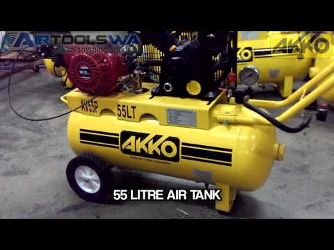 Akko AV55P 5 5 HP Petrol Air Compressor