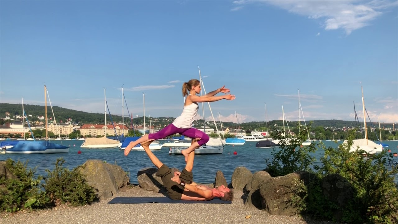 Surya Namaskar - An AcroYoga interpretation