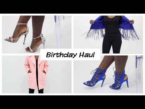 Birthday Haul | Zara, Sephora, Missguided, & Steve Madden