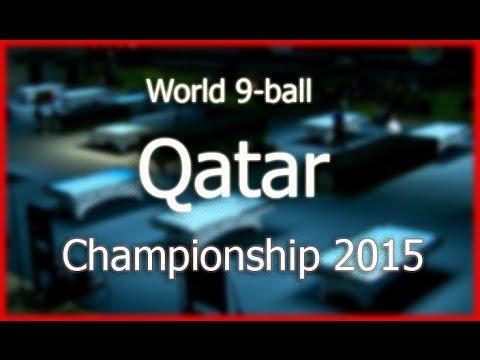 -John MORRA vs. Mark GRAY- World 9-ball championship 2015 Last 32