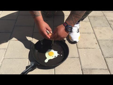 FRIED EGG OUTSIDE IN PERTH