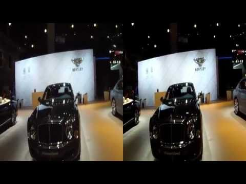 Bentley Display at the 2014 Los Angeles Auto Show in 3D HD