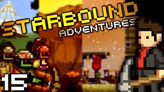 Diamonds Corrupt Us (StarBound w/ Seananners, Mr Sark, and Chilled - Part 15)