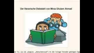 RE: Der literarische Diebstahl von Mirza Ghulam Ahmad (Ahmadiyya)
