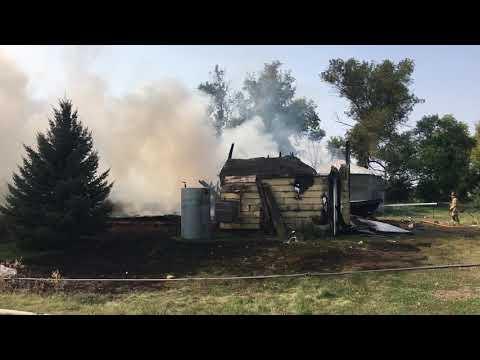 UPDATE: Rural East Grand Forks Fire