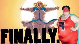 SJW'S REJOICE! FINALLY WE HAVE A FAT SUPER HERO MOVIE!
