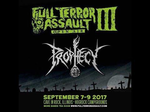 """9-8-17 PROPHECY LIVE at F.T.A. FEST III - """"Ebolic Regurgitation"""" (cam 2)"""