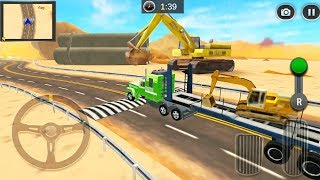 Highway Cargo Truck Transport Simulator #3 - Cargo Transport Driver 3D - Android Gameplay FHD