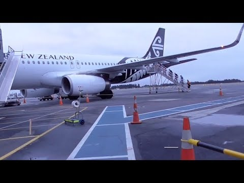 TRIPREPORT | Air New Zeland A320 Christchurch To Auckland Flight