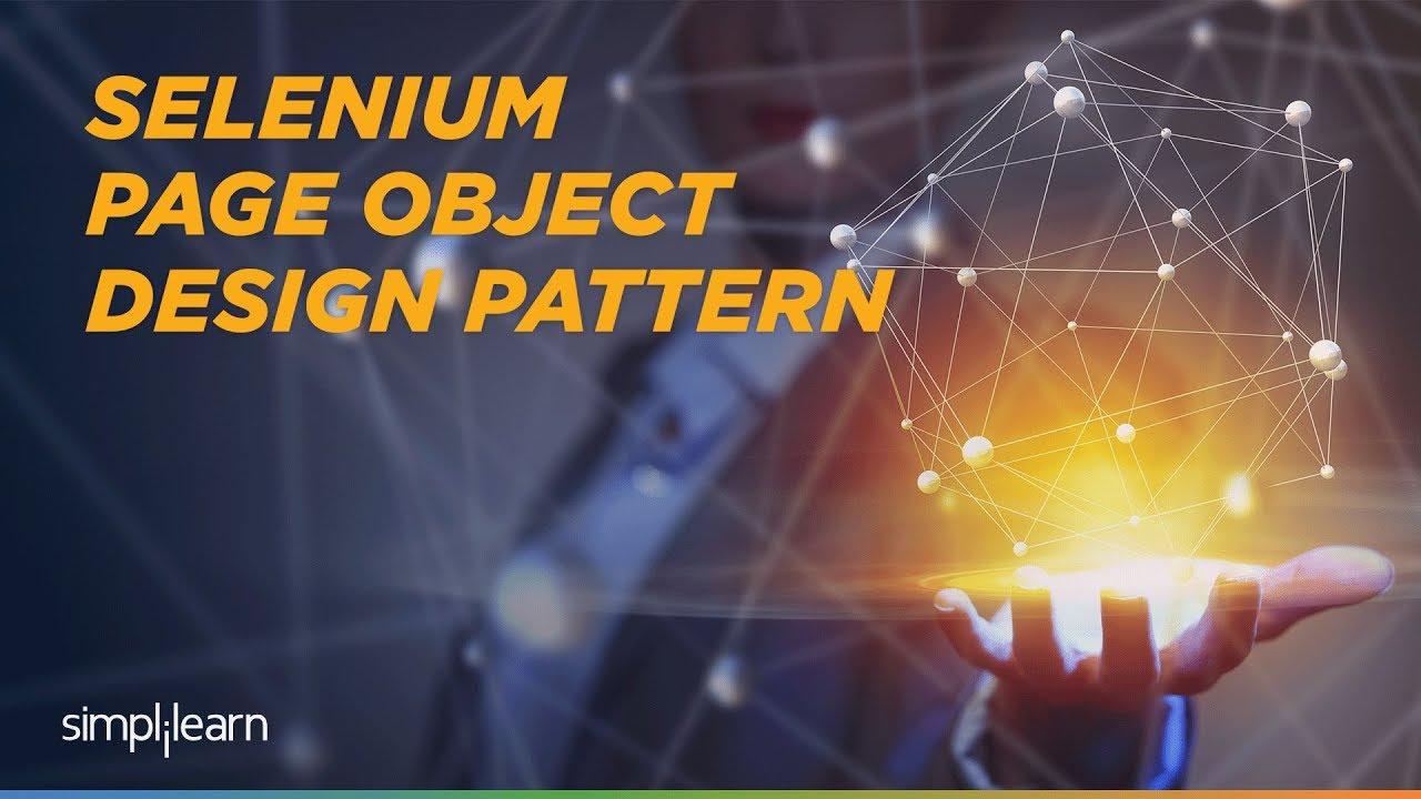 Selenium Page Object Model Framework Selenium Pom Selenium Tutorial For Beginners Simplilearn