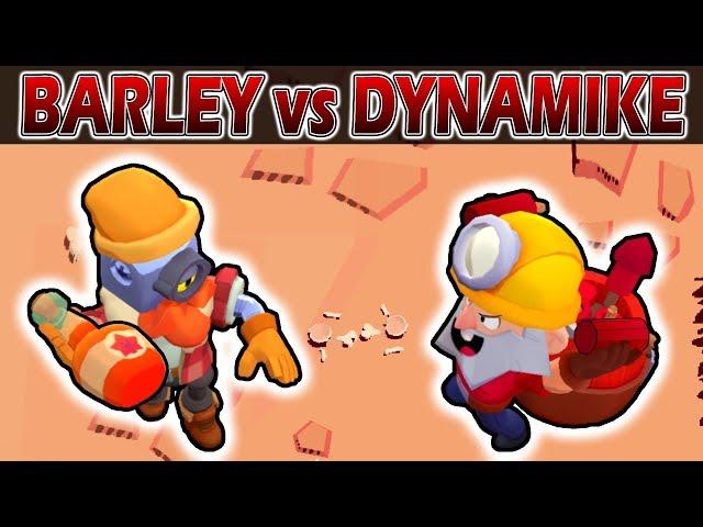 Barley VS Dynamike | 1 vs 1 | 17 Pruebas