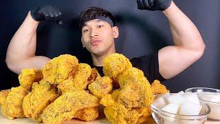 열심히 운동하고 ⭐️ BHC 뿌링클 치킨 먹기 (치킨 …
