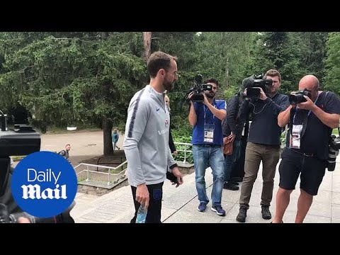 Gareth Southgate interview ahead of England's semi-final - Daily Mail