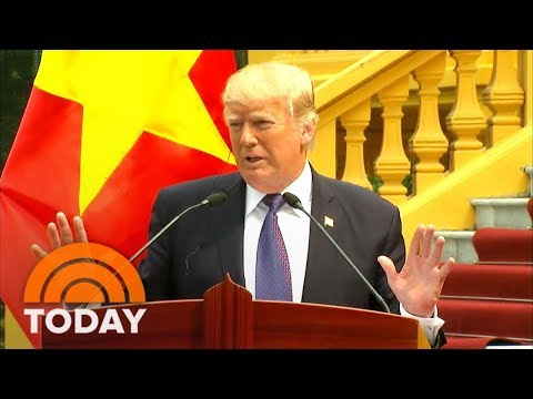 President Donald Trump's Visit To The Philippines Sparks Local Riots | TODAY