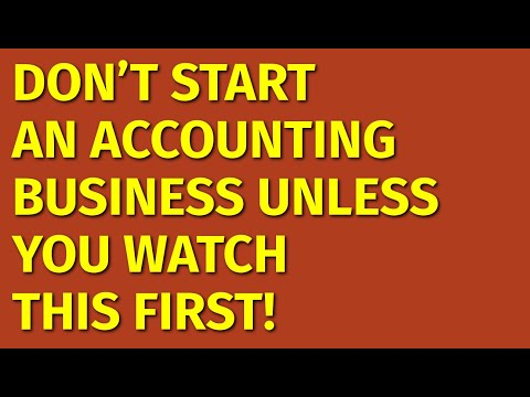 How to Start an Accounting Business | Including Free Accounting Business Plan Template