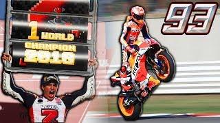 ¡¡ MARC MARQUEZ, MOTOGP WORLD CHAMPION!! El piloto mas joven en ganar 5 CAMPEONATOS