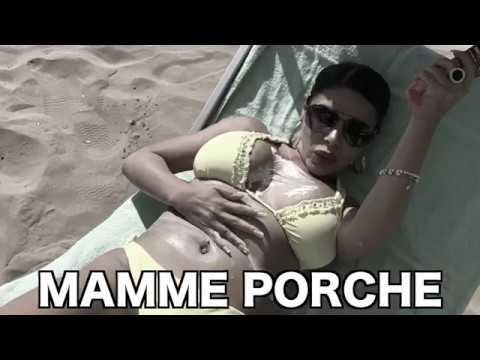 MAMME PORCHE - La schizzata di crema solare