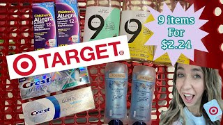 TARGET COUPONING 3/28-4/3 | 9 ITEMS FOR $2.24