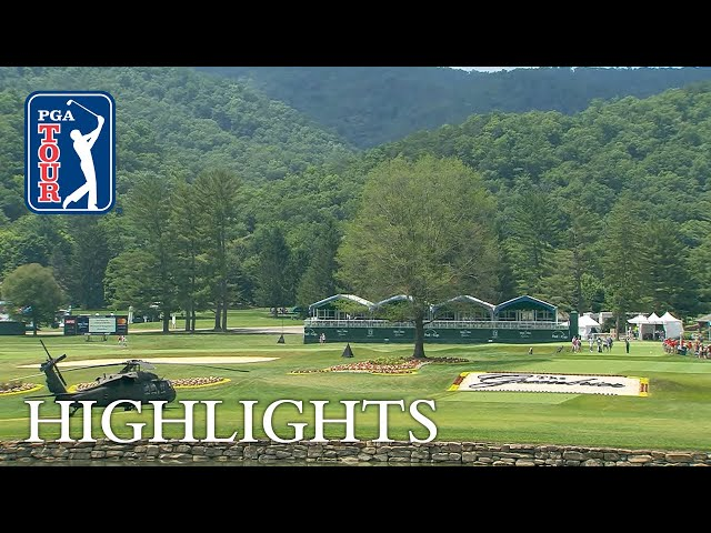 Highlights | Round 3 | The Greenbrier 2018