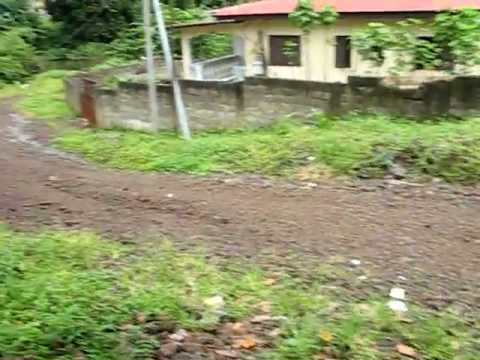 Taking a walk in Malabo, Bioko Island, Equitorial Guinea Part 1