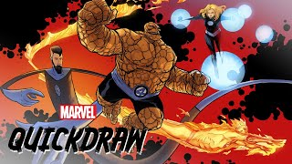 The Fantastic Four | Marvel Quickdraw