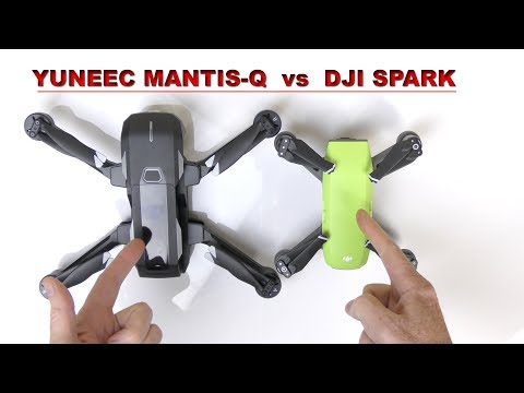 Yuneec MANTIS Q vs DJI SPARK - Which Drone is for you?