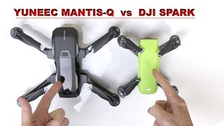 Video Yuneec MANTIS Q vs DJI SPARK - Which Drone is for you? download MP3, 3GP, MP4, WEBM, AVI, FLV Oktober 2018