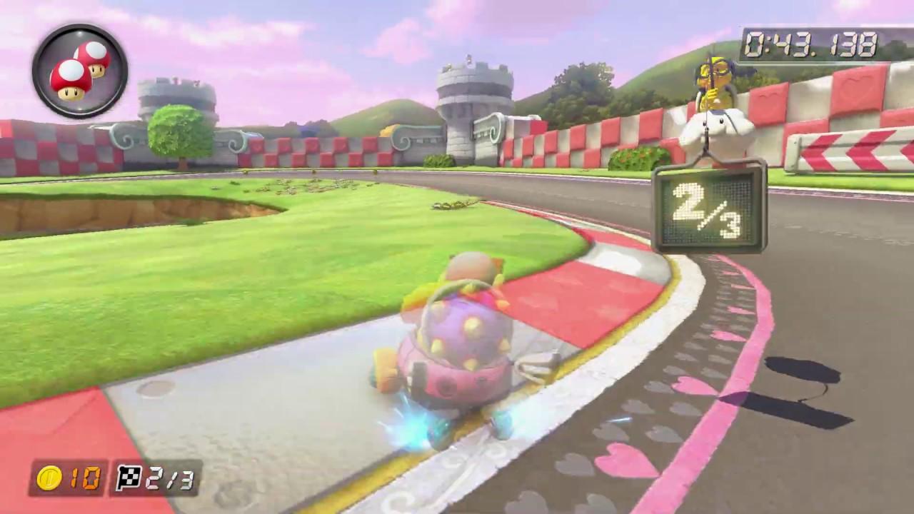 N64 Royal Raceway [150cc] - 1:56.216 - Eline (Mario Kart 8 Deluxe World Record)