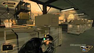 Deus ex Human Revolution Xbox 360 Gameplay Part 3