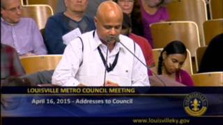 Kamal Bista - Louisville Needs Affordable Housing