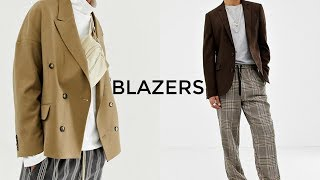 3 Ways To Style Blazers | Men