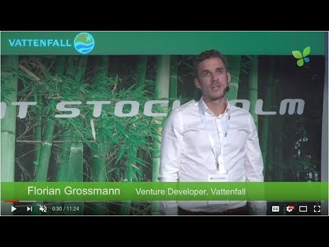 ECO17 Stockholm: Florian Grossmann Vattenfall Europe Innovation