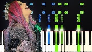 IMPOSSIBLE PIANO REMIX | Queen Of Mean - Sarah Jeffery (Descendants 3)