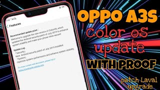 Oppo A3s Color OS 6 | Use Color OS 6 0 On Oppo A3s | Color