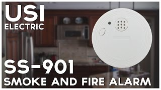 Battery Operated Photoelectric Smoke and Fire Alarm (SS-901)