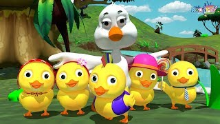 Five Little Ducks + More Baby Songs | Popular Nursery Rhymes Collection for Kids