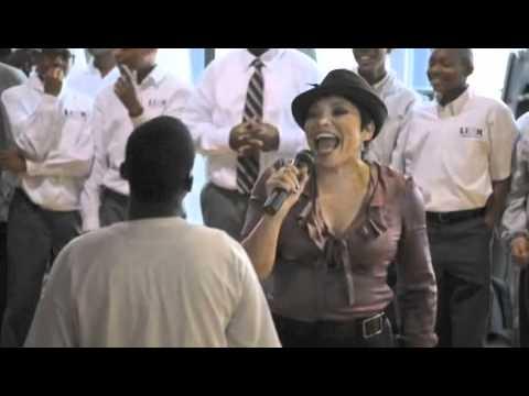 Tisha Sings Happy Birthday Song