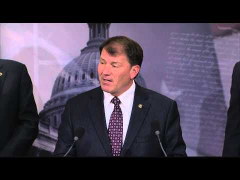 U.S. Senator Mike Rounds (R-S.D.) addresses Obamacare on its 5th anniversary