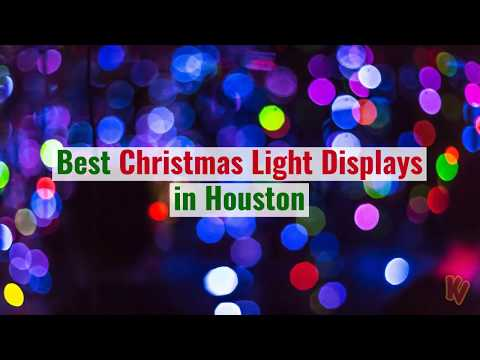 Best places to see christmas lights in Houston