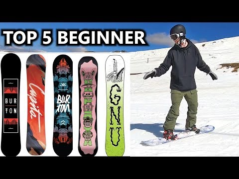 Top 5 Beginner Snowboards Of 2020