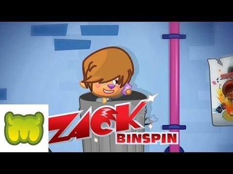 Moshi Monsters - Zack Binspin - Head Over Heels -  FT: Blingo