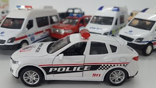 Police Car for Children | Kids Toys Video - Police Vehicles